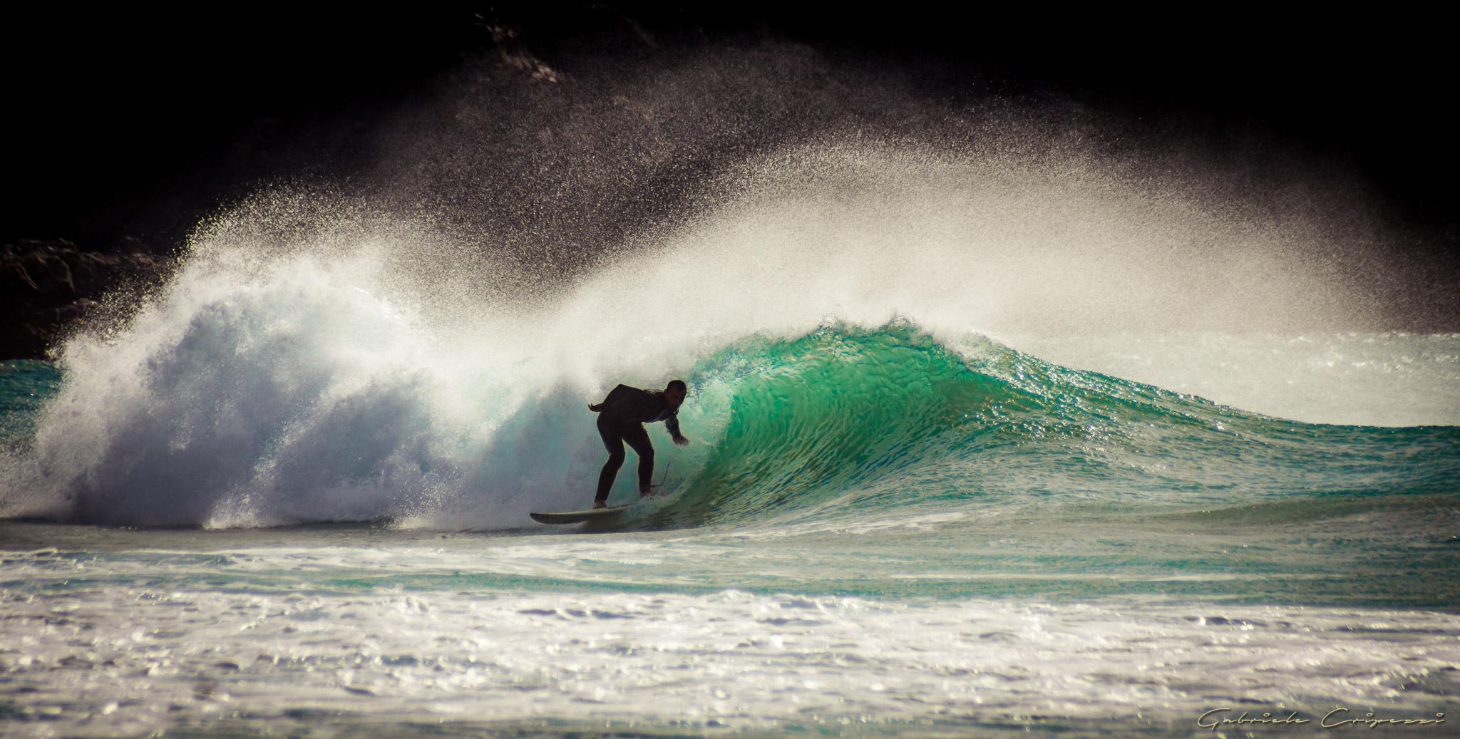 Surfing in Esquinzo Fuerteventura